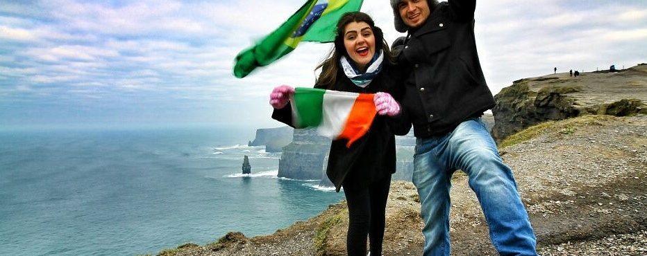 Como é comemorar um mês de Irlanda?