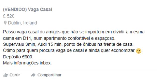 mesma cama. facebook
