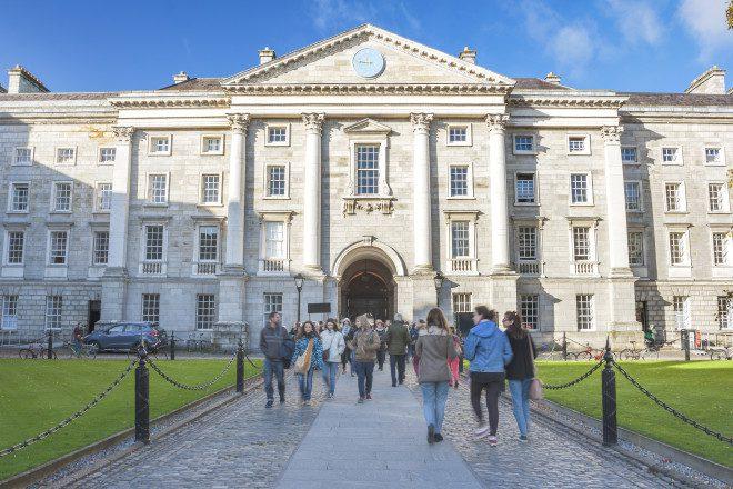Cursos grátis no Trinity College