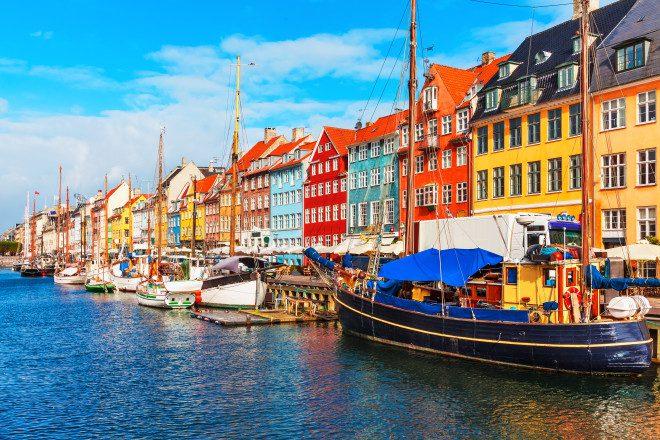 Copenhague na primavera