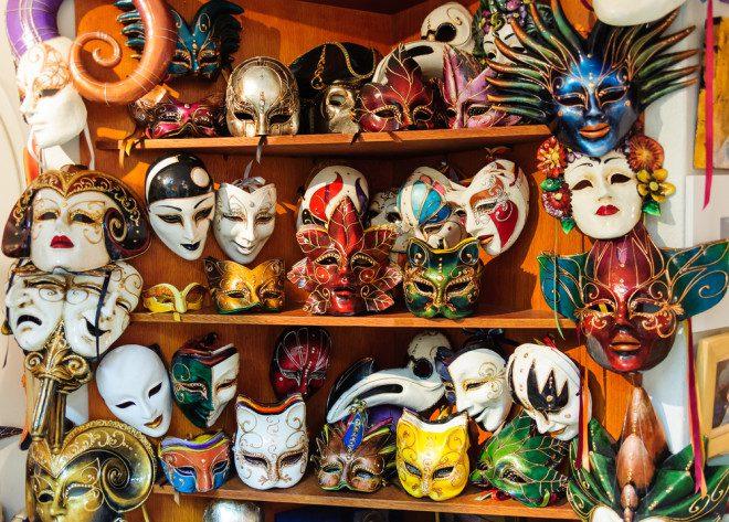 Carnaval mascarado? Seu destino é Veneza. Foto: Shutterstock