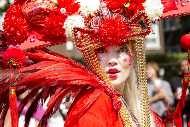 Tradicional, oNothing Hill Carnivalacontece desde 1965 Foto: Shutterstock