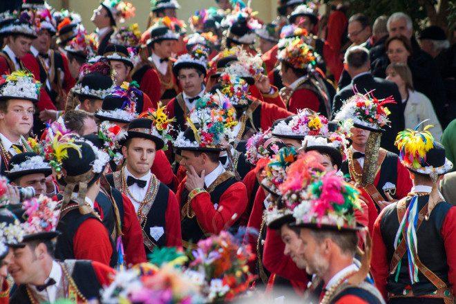 Na Croácia o carnaval tem pitadas do carnaval de Veneza com elementos da mitologia eslava. Foto: Shutterstock