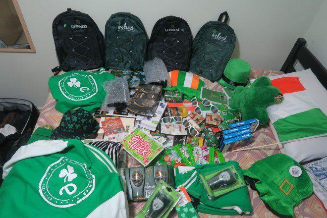 Como coube tudo isso na mala? :o Foto: Edu Giansante