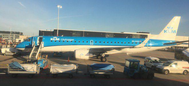 Embarcamos pelo terminal 1, que é onde fica o Cityhopper da KLM. Foto: Edu Giansante