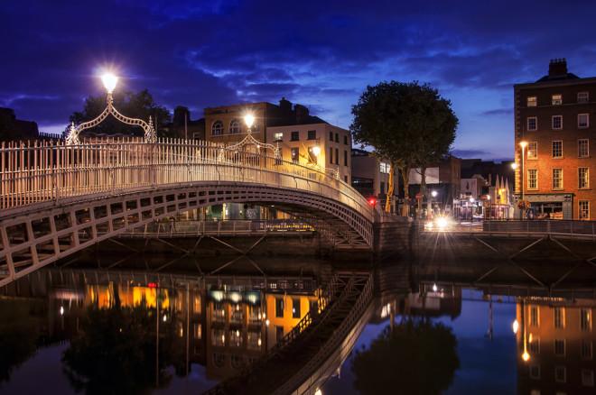 A magia de Dublin. Crédito: Shutterstock