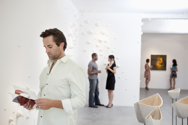 Seja um curioso ou especialistas no assunto, as galerias irlandesas têm muito a oferecer. Crédito. Shutterstock