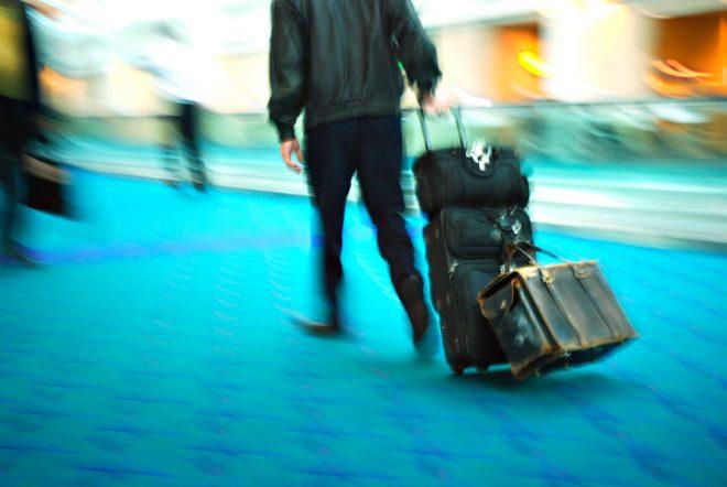 Correria pelos aeroportos. Foto: Shutterstock