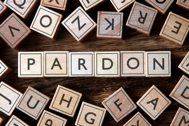 Sorry, we don't have pardon today! Foto: Shutterstock