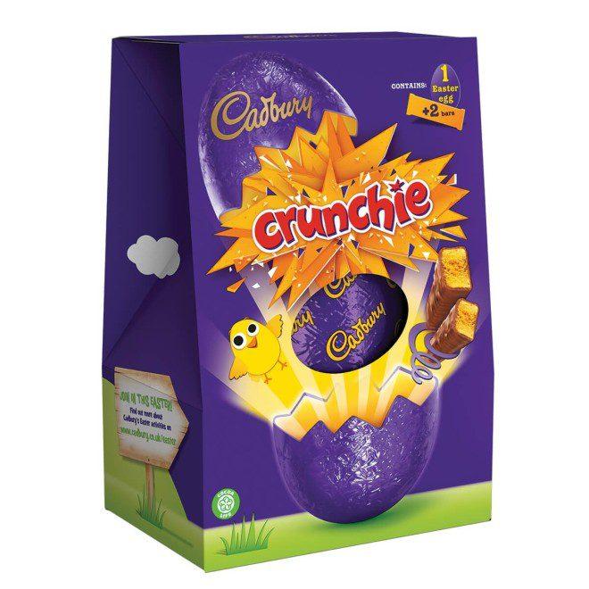A versão irlandesa vai direto ao ponto, com embalagens mais simples. Fonte: cadburygiftsdirect.co.uk