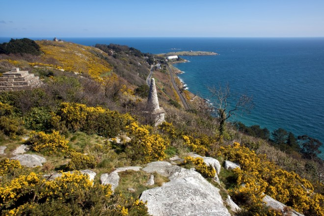 Vista do killiney Hill. Foto: Dalkey Photos