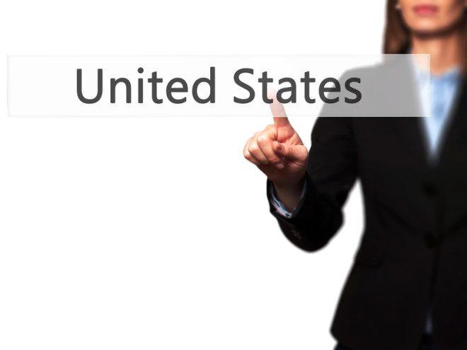 O sonho americano trabalhar nos Estados Unidos pode ser possível. Jacek Dudzinski \ Dreamstime