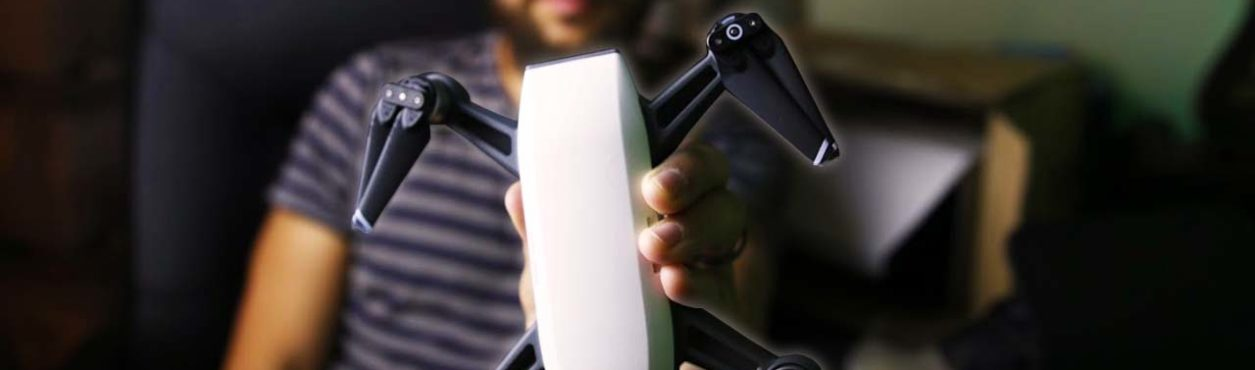 Chegou nosso Drone! Unboxing DJI Spark