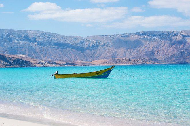 Arquipélago de Socotra, no Iêmen, considerado Patrimônio Mundial da UNESCO, fica em uma região com a presença de terroristas. Crédito: Depositphotos/ vampy1
