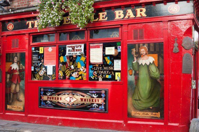 intercâmbio em Dublin