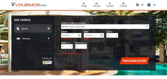 Viajemos.com oferece opções de hotéis ao redor do mundo