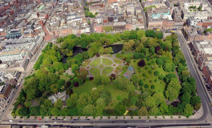 8 fotos aéreas de Dublin que mostram toda sua glória