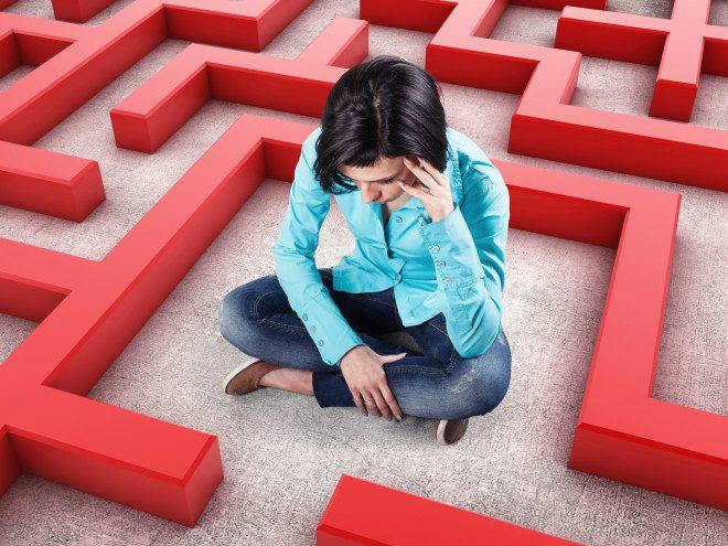 Fugir de situações que levam ao blue mood ou baixo astral combatem a depressão. Crédito: depositphotos/Foto_vika