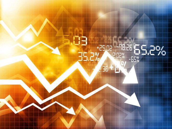 Os índices da economia se mantêm em queda. Crédito: Depositphotos /bluebay2014