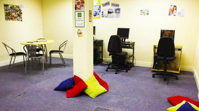 Student Lounge. Crédito: Acervo Castleforbes