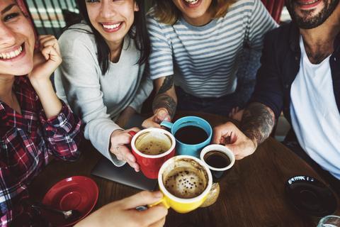 A amizade é uma das coisas mais gratificantes do intercâmbio. © Rawpixelimages | Dreamstime
