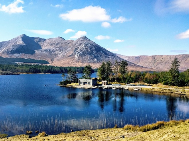 Lago em Connemara. Foto: Pixabay
