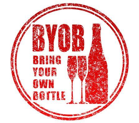 BYOB pode ser forma econômica de jantar fora. Ilustração: Depositphotos