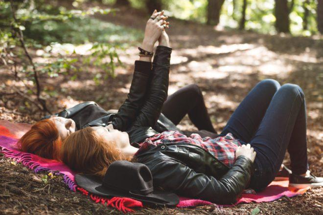 Baladas lésbicas ainca são escassas na Irlanda. © Katarzyna Bialasiewicz | Dreamstime.com