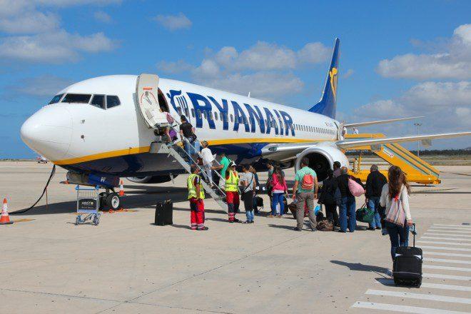 Ryanair volta atrás em política de bagagens e desaponta. Fonte: © Tupungato | Dreamstime
