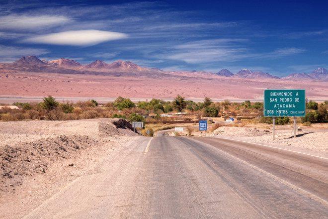 Deserto do Atacama, no Chile: considerado um dos mais bonitos do mundo. Crédito: Depositphotos/zhuzhu