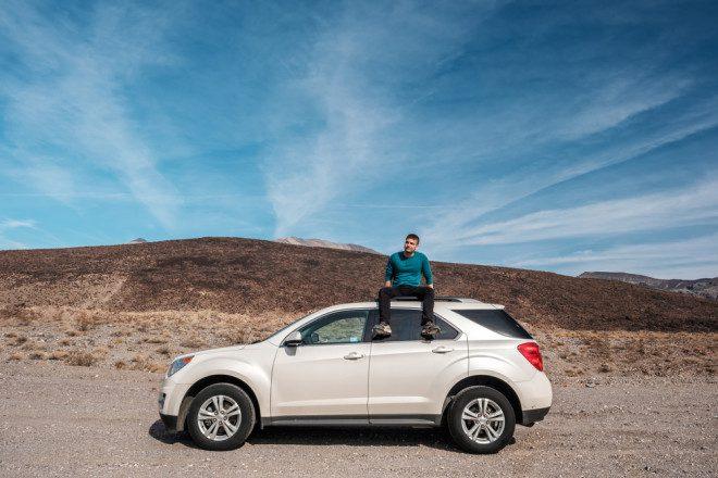 Viaje pelo Vale da Morte de Carro e desbrave o deserto americano. Crédito: Depositphotos/ haveseen