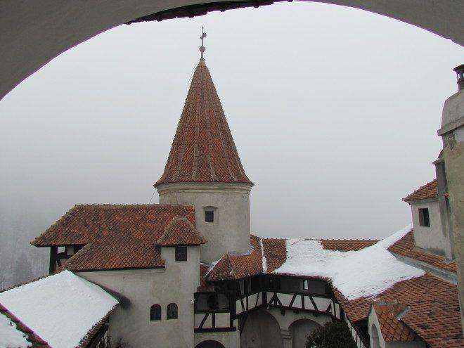 Bram Stoker nunca visitou o castelo descrito no seu livro. Foto: Elizabeth Gonçalves