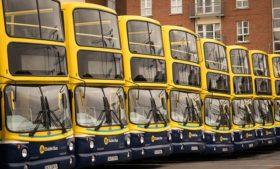 Furacão Ophelia x Transporte Público em Dublin