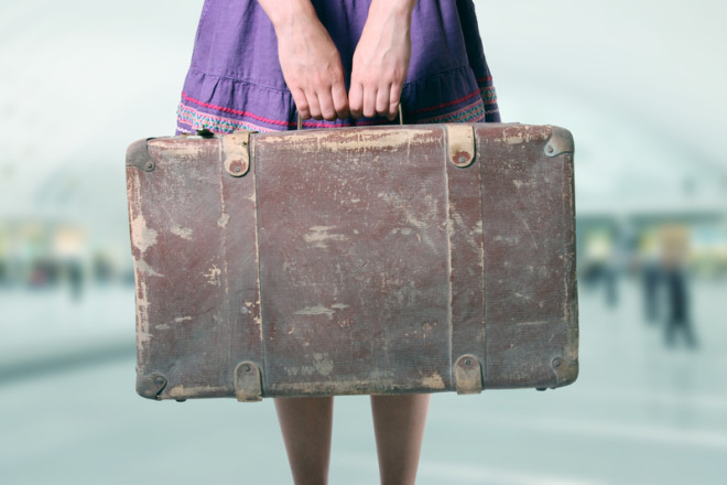 Guarda-volumes são uma ótima opção para deixar sua bagagem em Dublin em visita curta pela cidade. Foto: Ronstik | Dreamstime