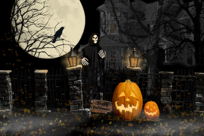 Você sabia que o Halloween surgiu na Irlanda? © Marilyn Gould | Dreamstime