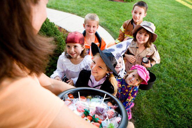 As crianças são as que mais se divertem no Halloween. © Seanlockephotography | Dreamstime