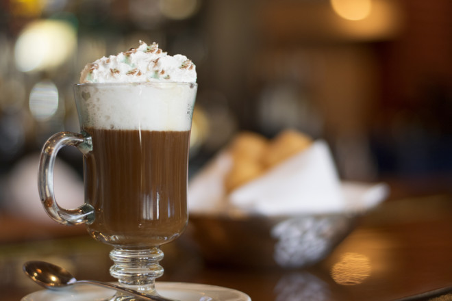 Irish coffee is a perfect drink for the cold days. Image: Cealbiero | Dreamstime