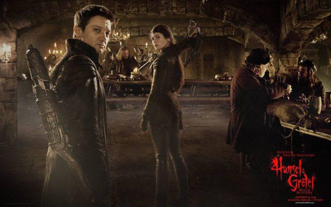 João e Maria, Caçadores de Bruxas. Crédito: cartaz do filme