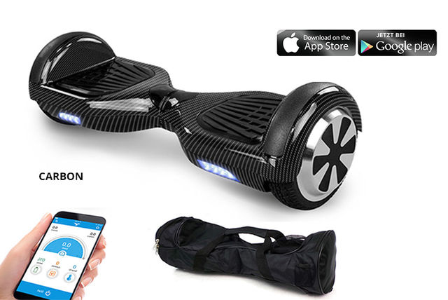 Hoverboard sai por €199 em deal do Living Social na Black Friday.