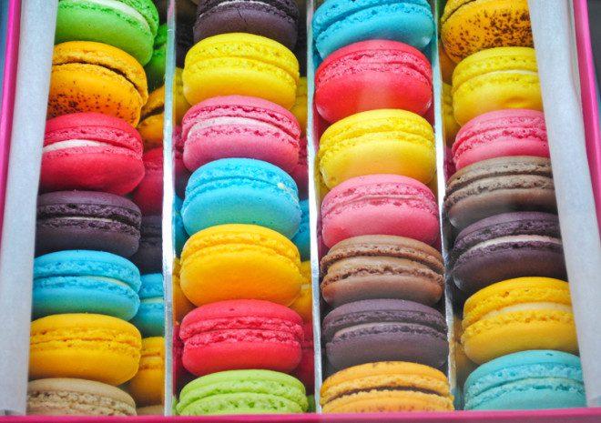 Os macarons de fama francesa foram criados pelos italianos. Crédito: Tonfon | Dreamstime