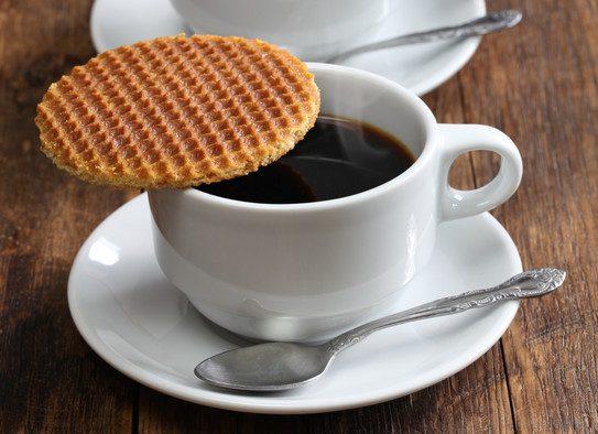 Stroopwafle: o biscoito é a sobremesa dos holandeses. Crédito: Ppy2010ha | Dreamstime