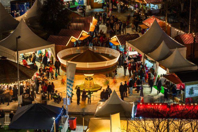 Galway tem uma das melhores Christmas Market da Irlanda. Crédito: © Rihardzz | Dreamstime