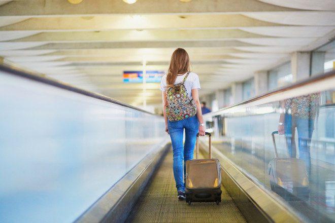 Prepare-se. A hora da despedida no aeroporto nuca é fácil. Fonte: © Ekaterina Pokrovsky | Dreamstime