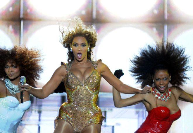 A diva Beyoncé foi apenas um dos shows que a Ana assistiu de graça na Irlanda. CRédito: © Andre DurÃo | Dreamstime