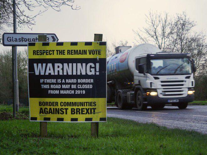 Decisão entre Irlanda e Reino Unido garante que não haverá fronteira com Irlanda do Norte. Foto: National Post