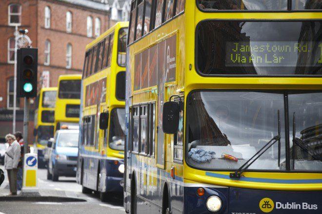 Dublin Bus encerra atividades mais cedo na véspera de Natal. Foto: Drx | Dreamstime