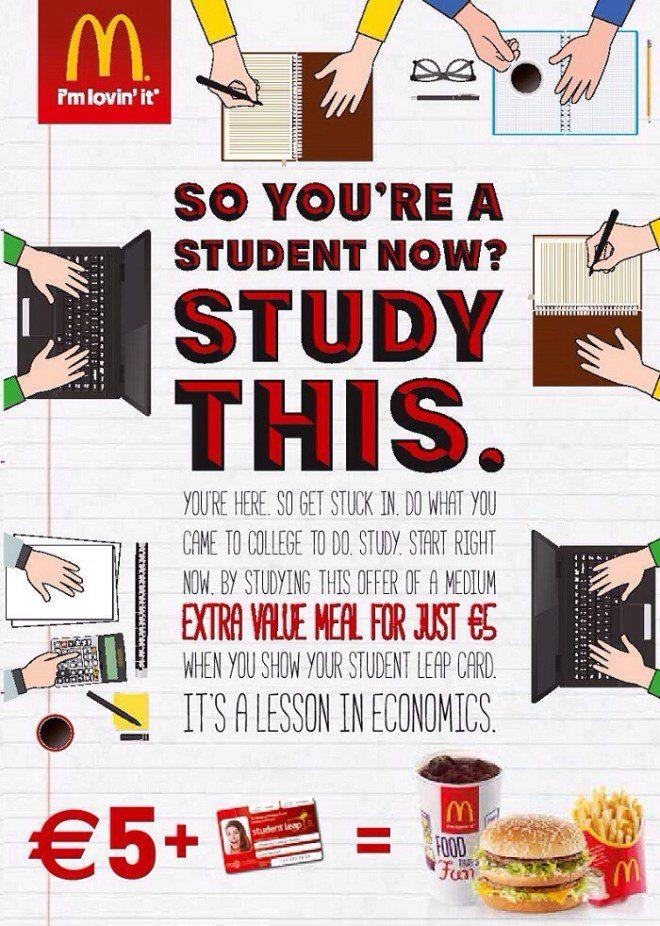 Desconto para o Student Leap Card. Reprodução Site Student Leap Card