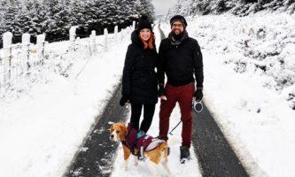 Neve na Irlanda ❄ Dez/2017