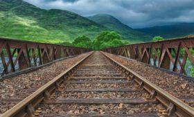 Como é viajar de trem pela Irlanda