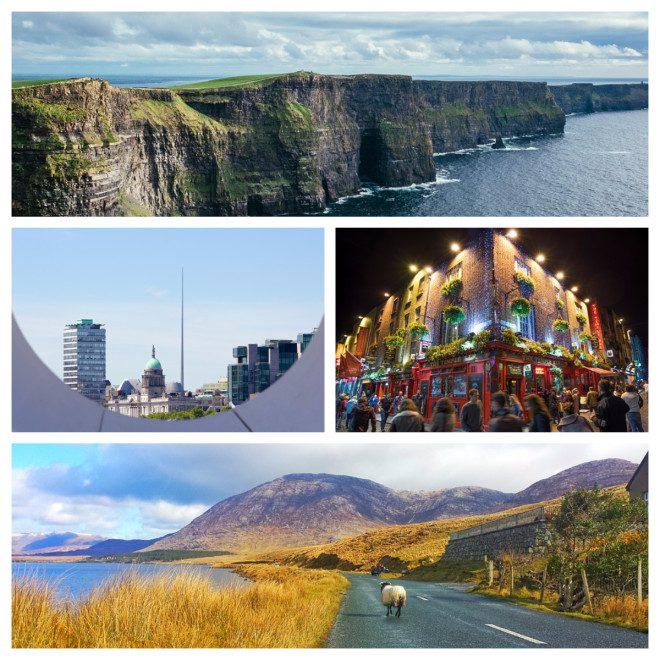 Irlanda é um dos principais destinos de intercâmbio. Foto: Pixabay